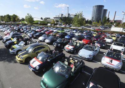 Galerie Beetle-Korso durch das VW Werk6