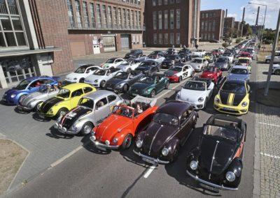 Galerie Beetle-Korso durch das VW Werk8