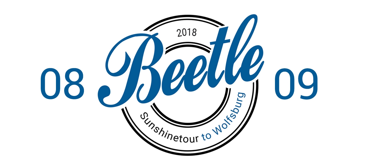 Beetle Sunshinetour to Wolfsburg
