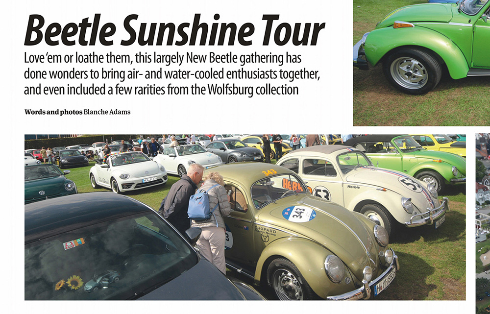 Die Sunshinetour noch immer in den Medien